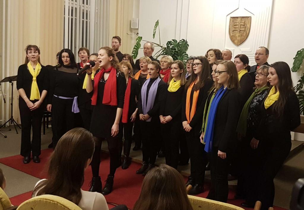 """23.02.2018 - koncert """"spevácky zbor Gaudete a jeho sólisti"""""""