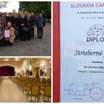 22.4.2017 - X. medzinárodný zborový festival Slovakia Cantat 2017 - strieborné pásmo